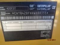 CATERPILLAR CHARGEUSES-PELLETEUSES 420F2IT equipment  photo 17
