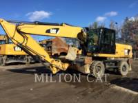 Equipment photo Caterpillar M322D EXCAVATOARE PE ROŢI 1