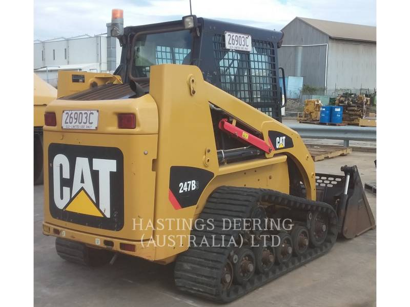 CATERPILLAR PALE CINGOLATE MULTI TERRAIN 247B3LRC equipment  photo 4