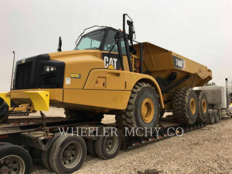 CATERPILLAR ARTICULATED TRUCKS 740B TG equipment  photo 1