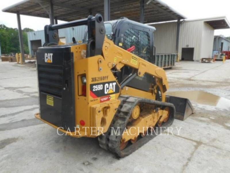 CATERPILLAR CHARGEURS TOUT TERRAIN 259D ACW equipment  photo 2