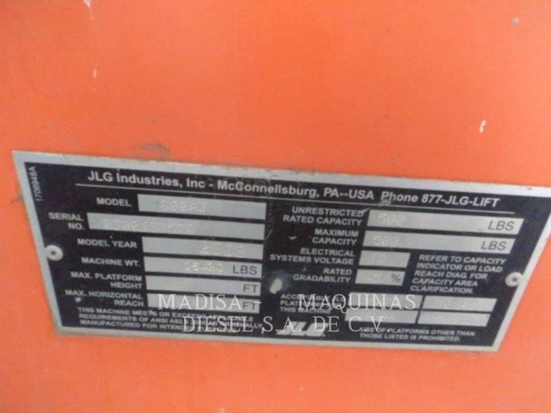JLG INDUSTRIES, INC. DŹWIG - WYSIĘGNIK 800 AJ equipment  photo 6