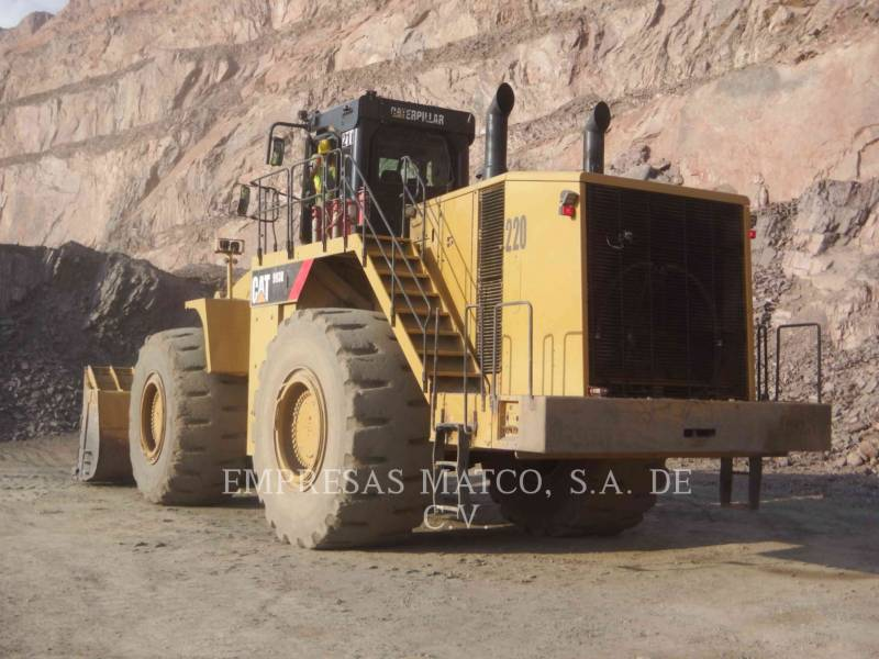 Caterpillar ÎNCĂRCĂTOR MINIER PE ROŢI 993K equipment  photo 4