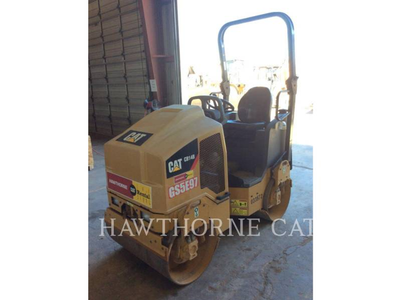 CATERPILLAR COMPACTEURS CB14B equipment  photo 2