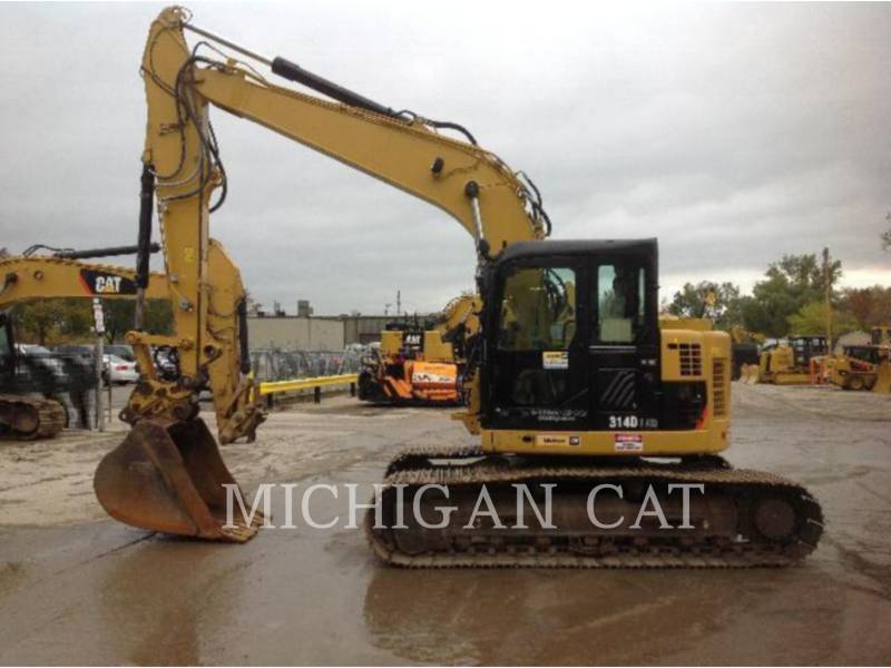 CATERPILLAR TRACK EXCAVATORS 314DLCR PQ equipment  photo 10