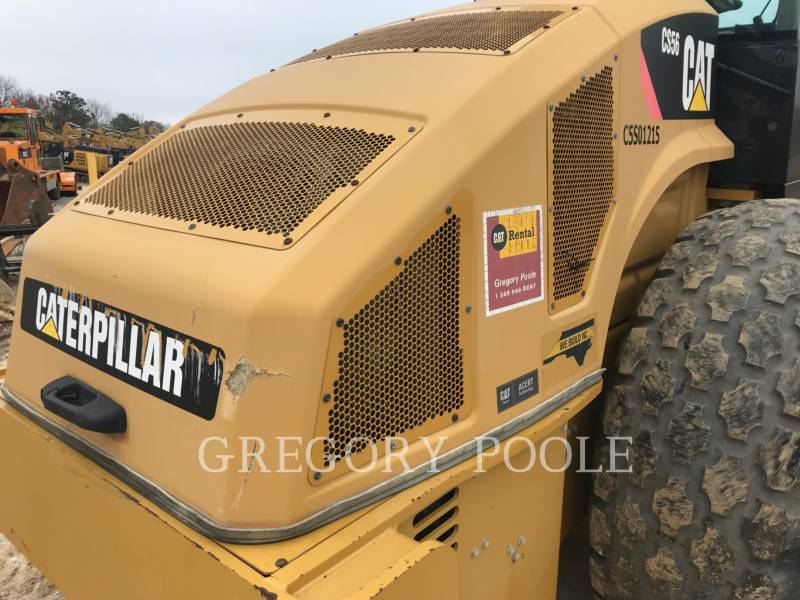 CATERPILLAR EINZELVIBRATIONSWALZE, GLATTBANDAGE CS56 equipment  photo 17