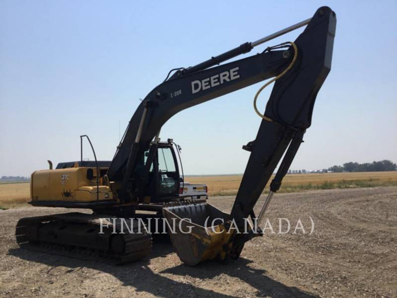 JOHN DEERE TRACK EXCAVATORS 270D LC equipment  photo 2