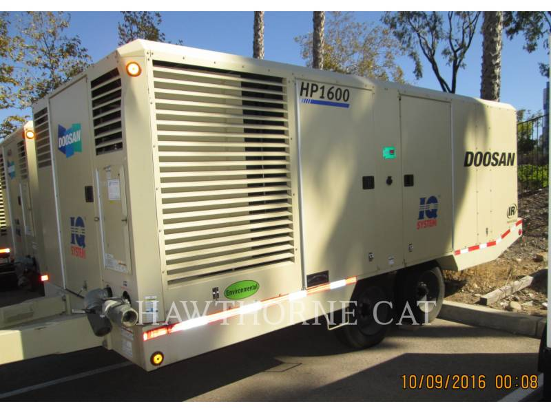 DOOSAN INFRACORE AMERICA CORP. COMPRESSEUR A AIR (OBS) HP1600WCU-FX-T3 equipment  photo 1