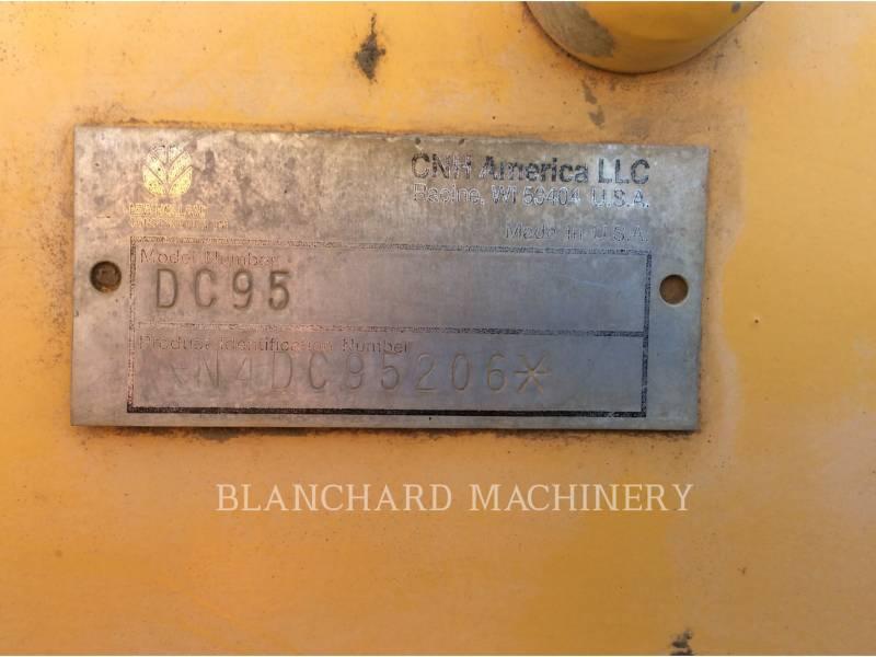 NEW HOLLAND LTD. TRACTEURS SUR CHAINES DC95 LGP equipment  photo 13