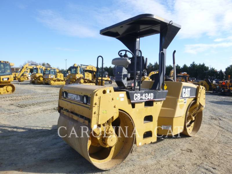CATERPILLAR コンパクタ CB434D equipment  photo 2