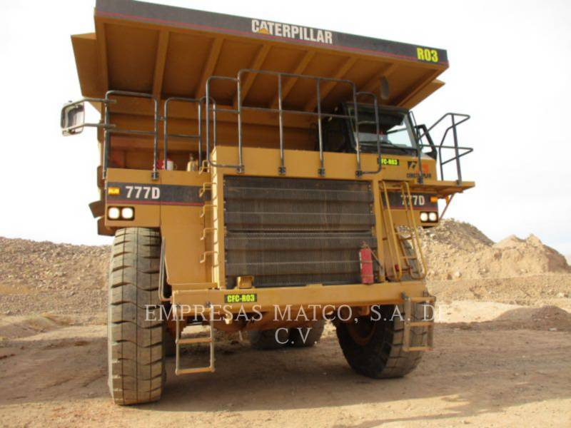 CATERPILLAR MINING OFF HIGHWAY TRUCK 777D equipment  photo 3