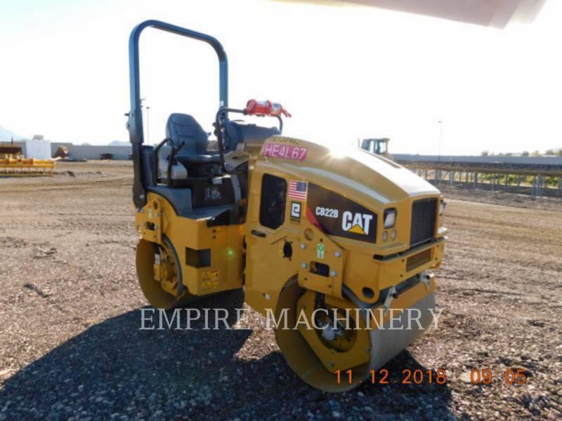CATERPILLAR TANDEMVIBRATIONSWALZE, ASPHALT CB22B equipment  photo 1