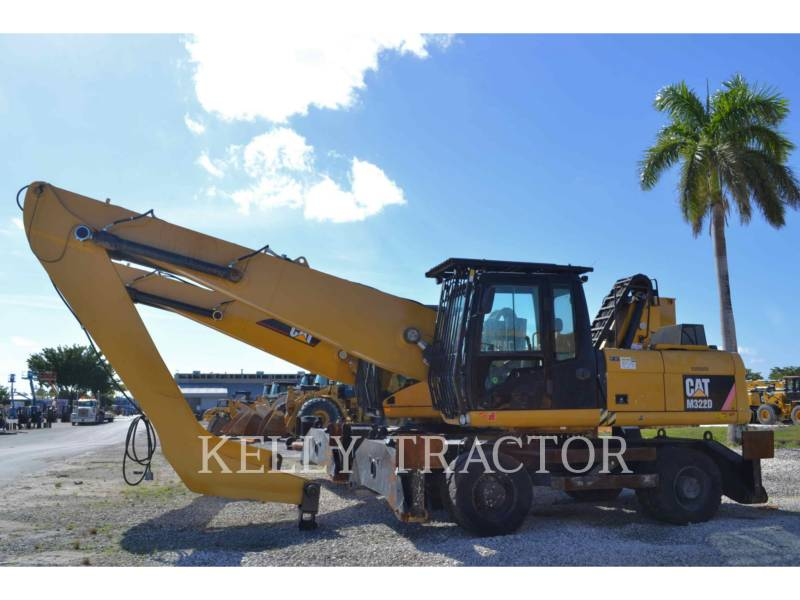 CATERPILLAR RECYCLING  (Forest Products) M322D equipment  photo 2