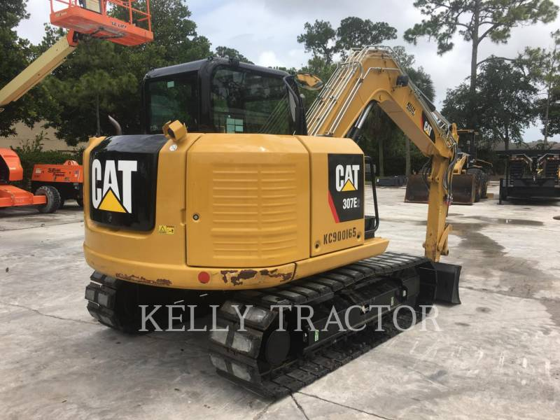 CATERPILLAR KETTEN-HYDRAULIKBAGGER 307E2 equipment  photo 11