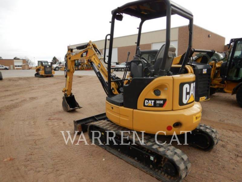 CATERPILLAR PELLES SUR CHAINES 303E CR equipment  photo 3