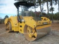 Equipment photo CATERPILLAR CB64 TANDEMOWY WALEC WIBRACYJNY DO ASFALTU (STAL-STAL) 1