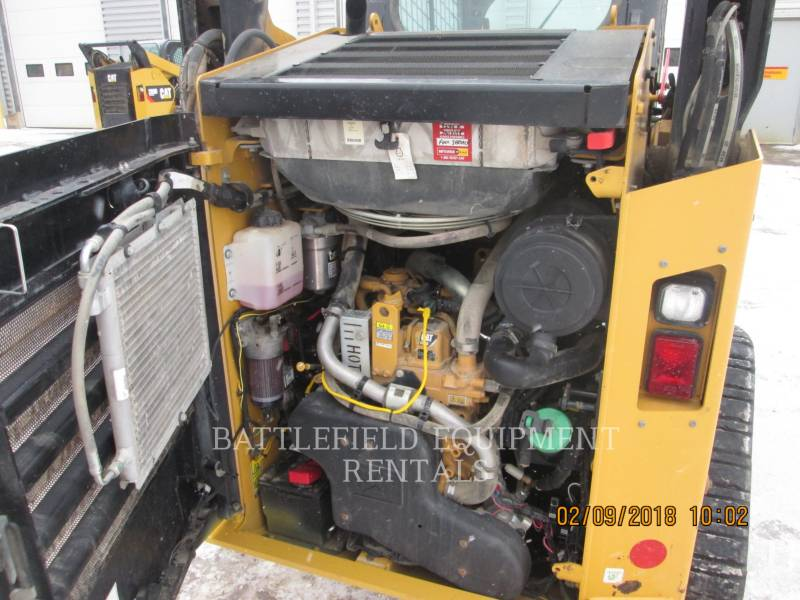 CATERPILLAR CARGADORES MULTITERRENO 257DLRC equipment  photo 7