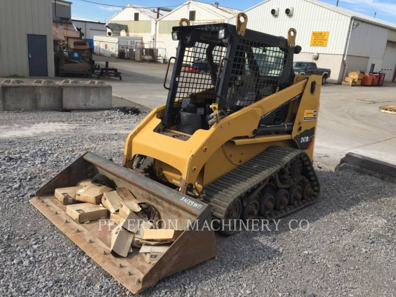 CATERPILLAR SKID STEER LOADERS 247B3 equipment  photo 1