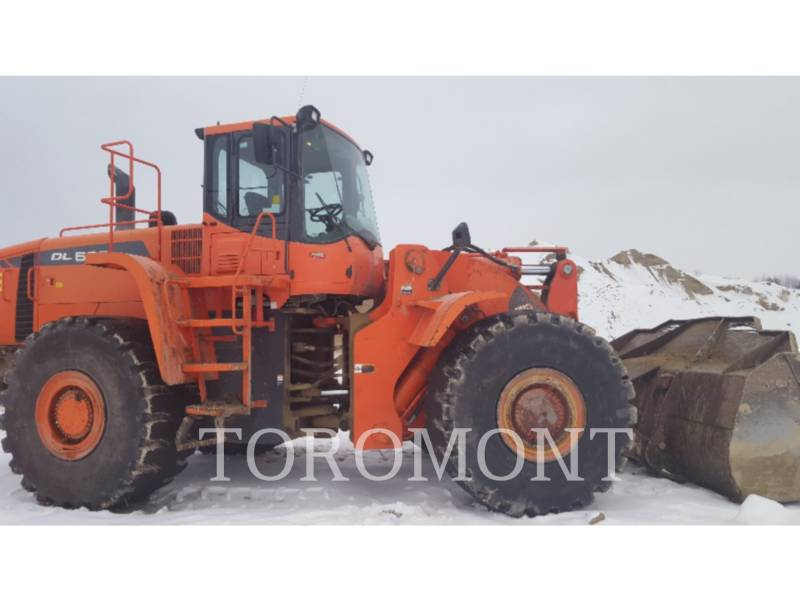 DOOSAN INFRACORE AMERICA CORP. WHEEL LOADERS/INTEGRATED TOOLCARRIERS DL500 equipment  photo 5