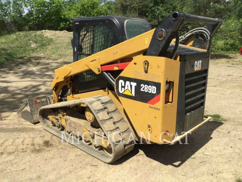 CATERPILLAR CARGADORES MULTITERRENO 289D A2Q equipment  photo 4