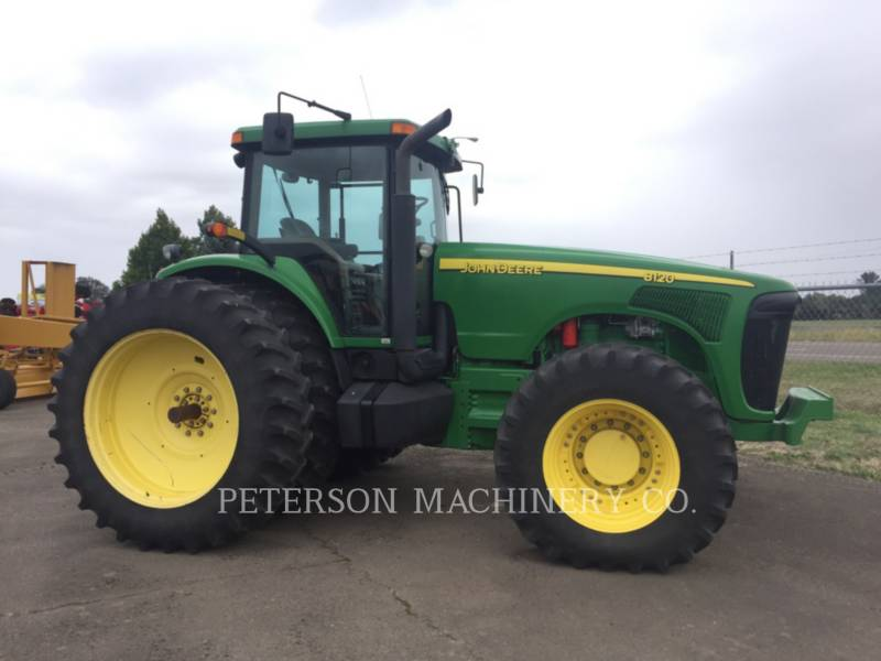 DEERE & CO. AG TRACTORS JD8120 equipment  photo 1