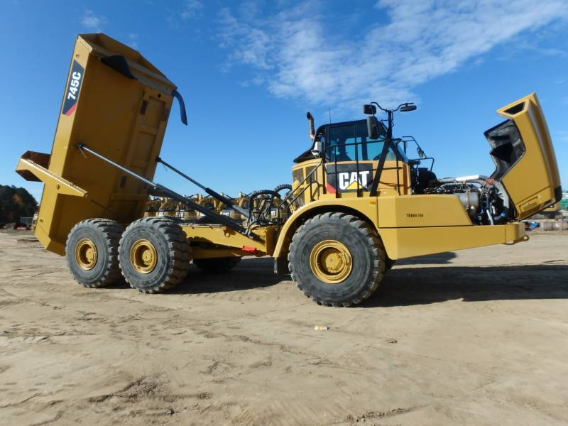 CATERPILLAR CAMIONES ARTICULADOS 745C equipment  photo 10