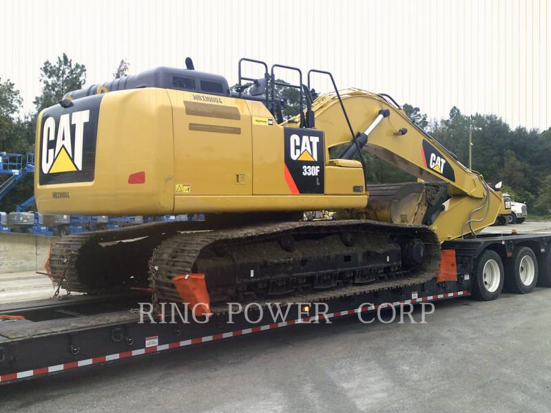 CATERPILLAR KETTEN-HYDRAULIKBAGGER 330FLTHUMB equipment  photo 4