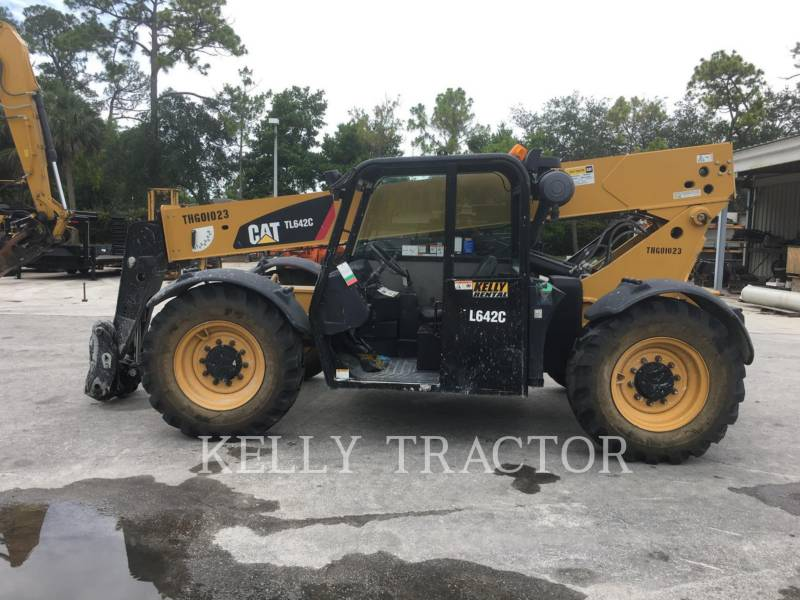 CATERPILLAR TELEHANDLER TL642C equipment  photo 2