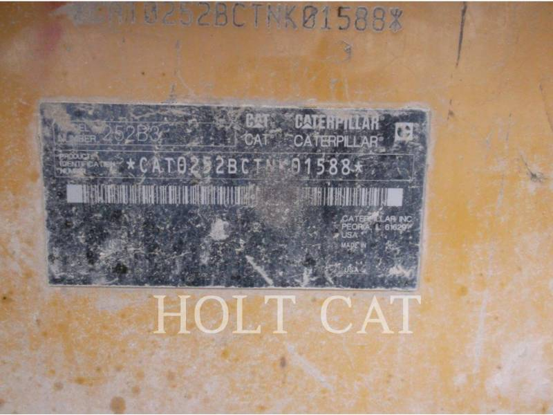 Caterpillar MINIÎNCĂRCĂTOARE RIGIDE MULTIFUNCŢIONALE 252B3 equipment  photo 12