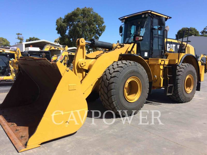 CATERPILLAR CARGADORES DE RUEDAS 972 K equipment  photo 1