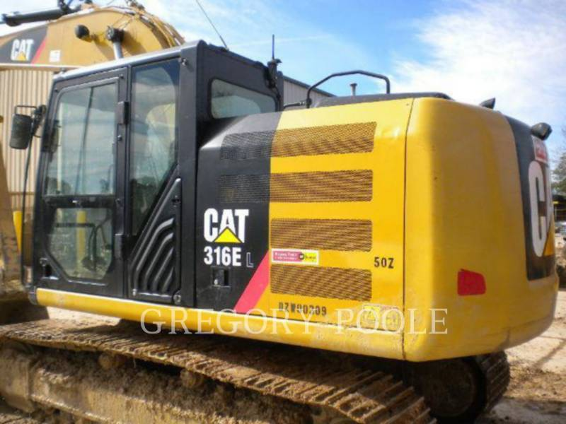 CATERPILLAR PELLES SUR CHAINES 316E L equipment  photo 8
