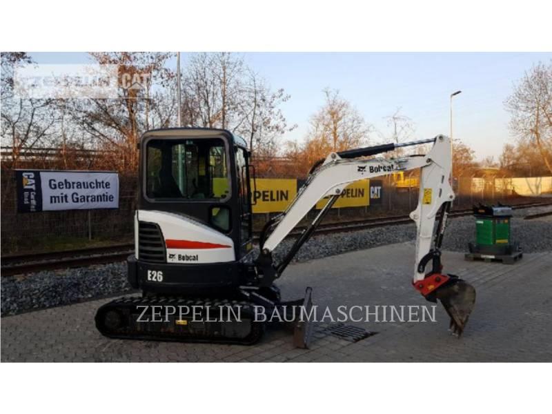 BOBCAT KOPARKI GĄSIENICOWE E26 equipment  photo 3