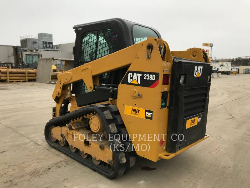 CATERPILLAR CHARGEURS COMPACTS RIGIDES 239DSTD1CA equipment  photo 3