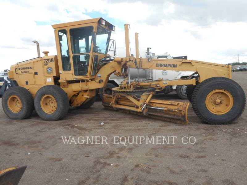 CHAMPION MOTOR GRADERS 720A equipment  photo 1