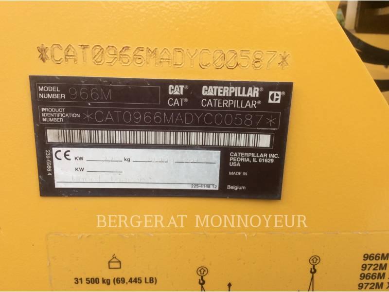 CATERPILLAR CHARGEURS SUR PNEUS/CHARGEURS INDUSTRIELS 966M equipment  photo 20