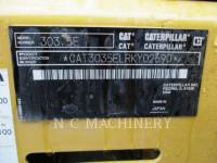 CATERPILLAR トラック油圧ショベル 303.5ECR equipment  photo 6