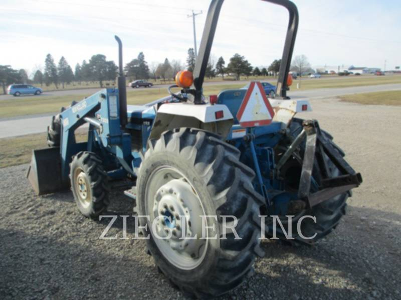 NEW HOLLAND LTD. AG TRACTORS 2120 equipment  photo 1
