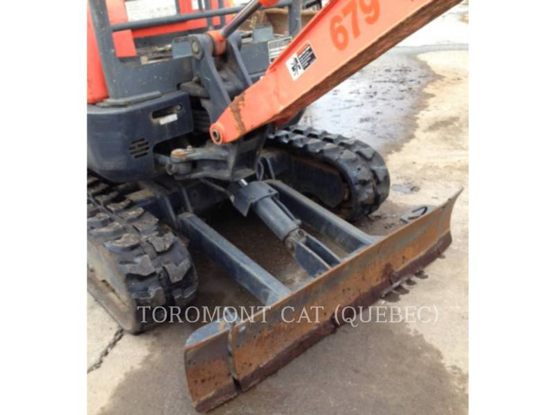KUBOTA CORPORATION EXCAVADORAS DE CADENAS U17 equipment  photo 10
