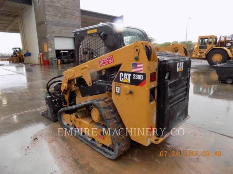 CATERPILLAR スキッド・ステア・ローダ 239D equipment  photo 3