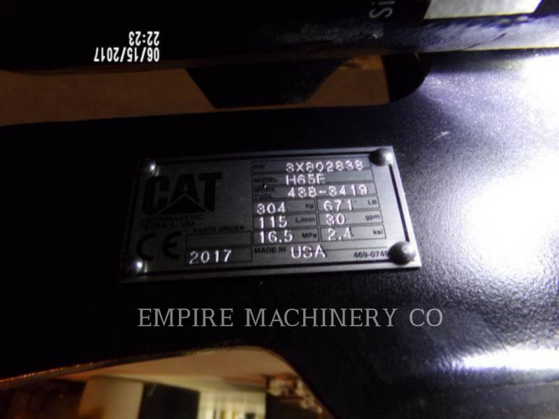 CATERPILLAR AG - HAMMER H65E 305E equipment  photo 5