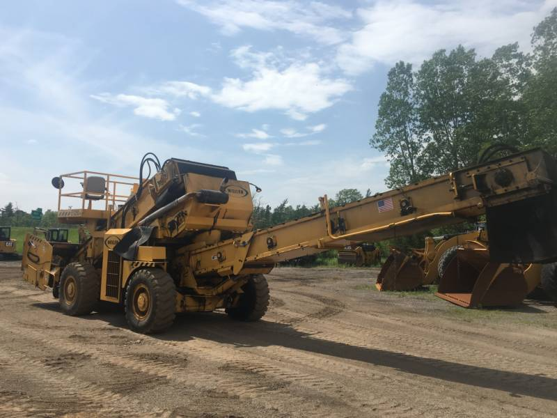 WEILER ASPHALT PAVERS E1250A equipment  photo 1