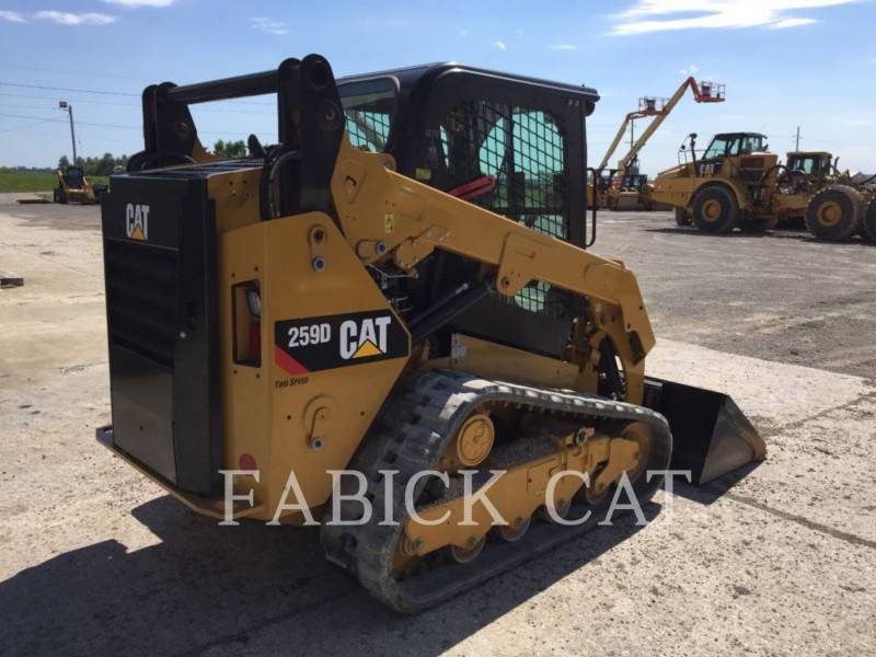 CATERPILLAR DELTALADER 259D C3H2 equipment  photo 4