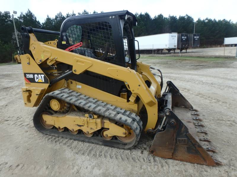 CATERPILLAR PALE CINGOLATE MULTI TERRAIN 259D equipment  photo 4