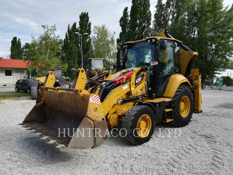 CATERPILLAR RETROEXCAVADORAS CARGADORAS 428F2 equipment  photo 1