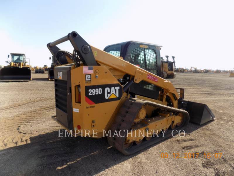 CATERPILLAR スキッド・ステア・ローダ 299D CA equipment  photo 2