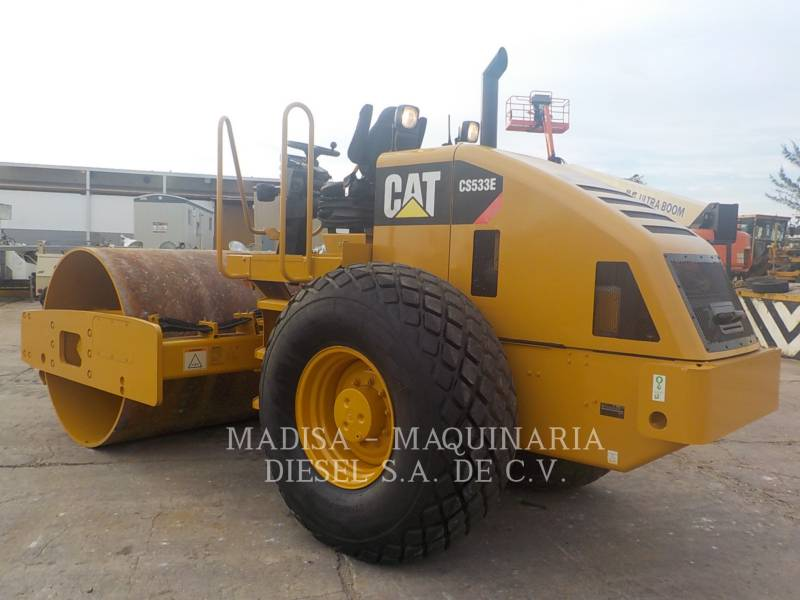 CATERPILLAR PLANO DO TAMBOR ÚNICO VIBRATÓRIO CS-533E equipment  photo 4
