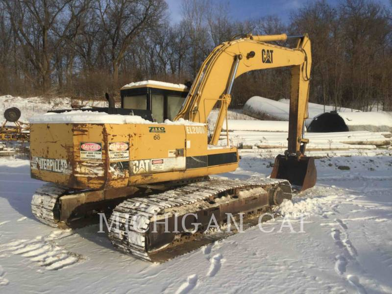 CATERPILLAR KETTEN-HYDRAULIKBAGGER E200BL equipment  photo 3