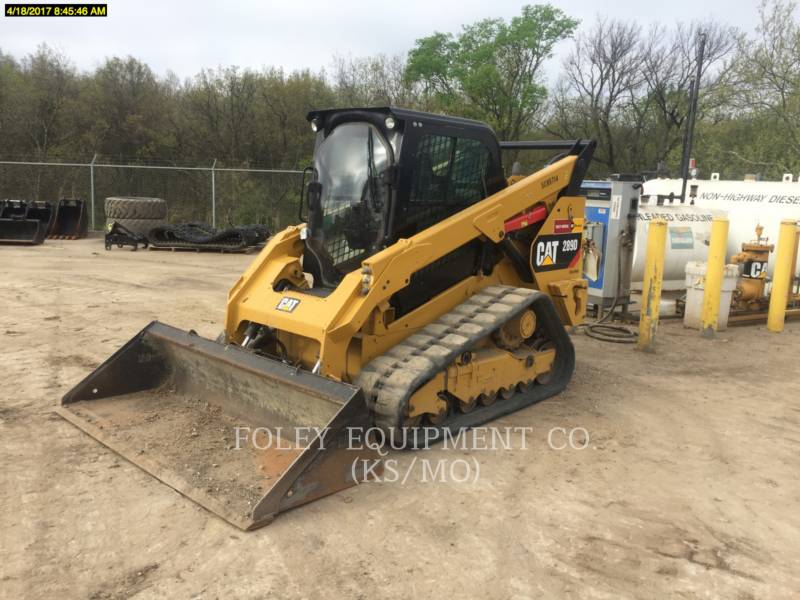 CATERPILLAR SKID STEER LOADERS 289DSTD2CA equipment  photo 2