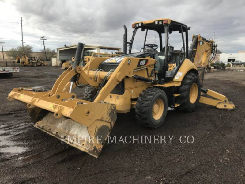 CATERPILLAR BACKHOE LOADERS 450F 4EOMP equipment  photo 4
