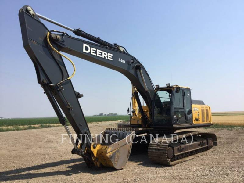 JOHN DEERE TRACK EXCAVATORS 270D LC equipment  photo 1